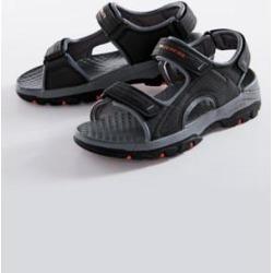 Men's Skechers Adjustable Strap Sandals, Black 11 M Medium found on Bargain Bro Philippines from Blair.com for $49.99