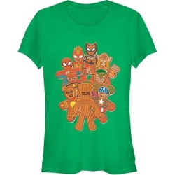 Fifth Sun Women's Tee Shirts KELLY - Avengers Kelly Green Cookie Endgame Heroes Crewneck Tee - Women found on Bargain Bro India from zulily.com for $16.99