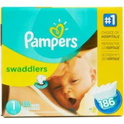 Pampers Disposable Diapers - Pampers 168-Ct. Size Swaddlers Diaper Set