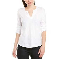 Ecru Henley (White - S), Women's(cotton) found on Bargain Bro Philippines from Overstock for $39.59