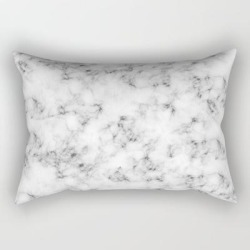 Rectangular Pillow | Real Marble by Grace - Small (17