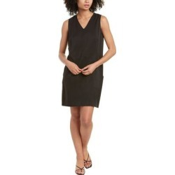 Natori Sanded Twill Shift Dress (S), Women's, Black found on Bargain Bro Philippines from Overstock for $87.99