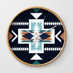 Wall Clock   Lost Coast by Urban Wild Studio Supply - Natural - White - Society6 found on Bargain Bro from Society6 for USD $19.45
