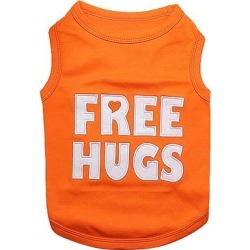 Parisian Pet Pet Tee Shirts Orange - Orange 'Free Hugs' Dog Tee found on Bargain Bro from zulily.com for USD $10.63