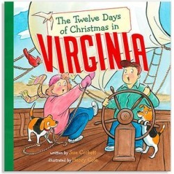 Sterling Picture Books - The Twelve Days of Christmas in Virginia Hardcover found on Bargain Bro from zulily.com for USD $6.83