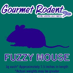 Frozen Fuzzy Mouse, Count of 25, 25 CT found on Bargain Bro from petco.com for USD $15.19