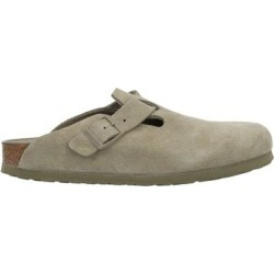 Mules - Natural - Birkenstock Slip-Ons found on MODAPINS from lyst.com for USD $142.00