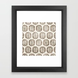 Framed Art Print | Seeds by Holli Zollinger - Vector Black - X-Small-10x12 - Society6