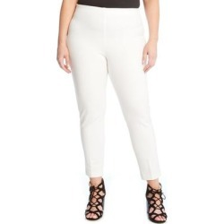 Piper Skinny Ankle Pants - White - Karen Kane Pants found on MODAPINS from lyst.com for USD $109.00