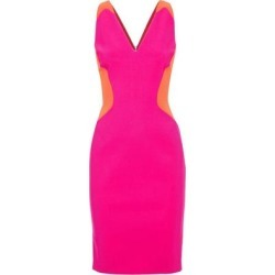 Knee-length Dress - Pink - Mugler Dresses found on MODAPINS from lyst.com for USD $448.00