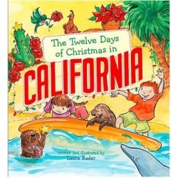 Sterling Picture Books - The Twelve Days of Christmas in California Hardcover found on Bargain Bro India from zulily.com for $8.99