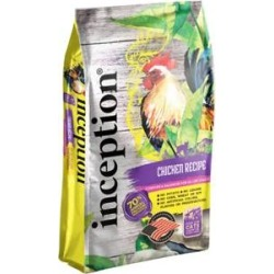 Inception Chicken Recipe Dry Cat Food, 4-lb bag found on Bargain Bro India from Chewy.com for $10.99