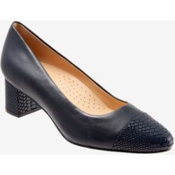 Women's Kiki Pump by Trotters in Navy (Size 10 M) found on Bargain Bro India from Woman Within for $109.99