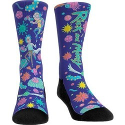Rock Em Apparel Socks - Rick & Morty Purple Galactic Adventures Socks - Kids & Adult found on Bargain Bro from zulily.com for USD $9.11