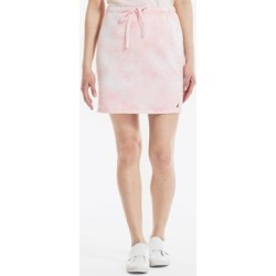 Nautica Women's Cloud Wash Knit Skirt Flare Red, XL found on Bargain Bro from Nautica for USD $18.81