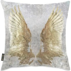 Oliver Gal 'My Golden Wings' Decorative Throw Pillow, Oliver Gal Artist Co.(Microfiber, Graphic Print) found on Bargain Bro from Overstock for USD $35.52