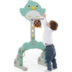 LebonYard 3-in-1 Basketball Hoop in Pink, Size 63.7 H x 18.11 W x 20.0 D in   Wayfair I01KHH2005275471 found on Bargain Bro Philippines from Wayfair for $46.83
