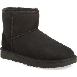 UGG Classic Mini Ii Genuine Shearling Lined Boot - Black - Ugg Boots found on Bargain Bro Philippines from lyst.com for $150.00