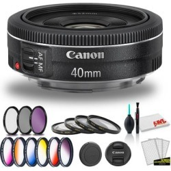 Canon EF 40mm f/2.8 STM Lens (International Model) with Cleaning Kit found on Bargain Bro Philippines from Overstock for $490.99