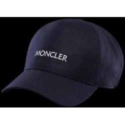 Flannel Hat - Blue - Moncler Hats found on Bargain Bro from lyst.com for USD $254.60