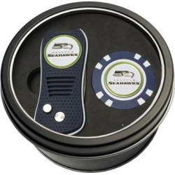 Seattle Seahawks Switch Chip Golf Tin Set found on Bargain Bro India from Fanatics for $24.99