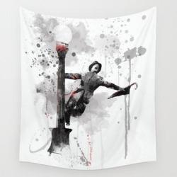 Wall Hanging Tapestry | Singing In The Rain - Gene Kelly by Marlene Watson & Art Crew Studio - 51