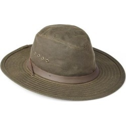 Tin Cloth Bush Hat - Green - Filson Hats found on MODAPINS from lyst.com for USD $75.00
