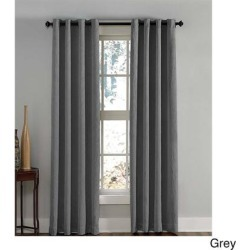 Lenox Crushed Textured Room Darkening Grommet Panel found on Bargain Bro from Overstock for USD $18.16