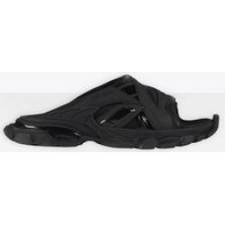 Track Slide Sandal - Black - Balenciaga Sandals found on Bargain Bro Philippines from lyst.com for $675.00