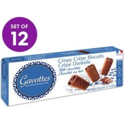 Gavottes Crackers - 3.17-Oz. Milk Chocolate Crispy Crepes - 12 Boxes found on Bargain Bro Philippines from zulily.com for $29.99
