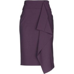 3/4 Length Skirt - Purple - Brunello Cucinelli Skirts found on Bargain Bro Philippines from lyst.com for $599.00