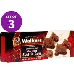 Walkers Shortbread Cookies - Chocolate Scottie Dog Shortbread Cookies - Set of Three found on Bargain Bro Philippines from zulily.com for $13.99