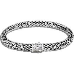 'classic Chain' Birthstone Moonstone Sapphire Sterling Silver Bracelet – June - Metallic - John Hardy Bracelets found on Bargain Bro from lyst.com for USD $638.40