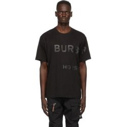 Black Halford Logo T-shirt - Black - Burberry T-Shirts found on Bargain Bro from lyst.com for USD $296.40