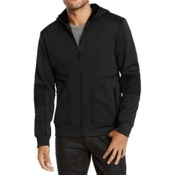 INC Mens Sweater Black Size Small S Faux-Fur Lined Hooded Full-Zip found on Bargain Bro Philippines from Overstock for $33.98