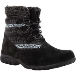 Women's Delaney Alpine Bootie by Propet in Black (Size 8 1/2 M) found on Bargain Bro Philippines from Woman Within for $84.99
