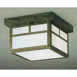 Arroyo Craftsman Mission 18 Inch 2 Light Outdoor Flush Mount - MCM-18T-F-RC found on Bargain Bro from Capitol Lighting for USD $340.48