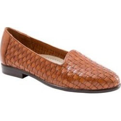 Women's Liz Leather Loafer by Trotters in Brown (Size 6 1/2 M) found on Bargain Bro Philippines from Woman Within for $94.99