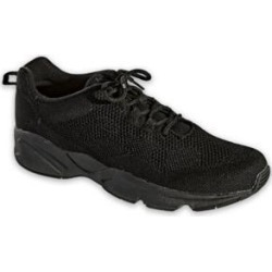 Men's Propet Stability Fly Shoes, Black 10 M Medium found on Bargain Bro from Blair.com for USD $64.59