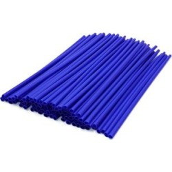 72Pcs 24cm Blue Motorcycle Wheel Rim Spoke Tube Warning Reflective Strips found on Bargain Bro Philippines from Overstock for $18.29