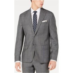 DKNY Mens Gray Stretch Jacket 38S (Gray - 38S), Men's(Wool Blend) found on Bargain Bro Philippines from Overstock for $55.78