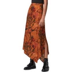 Rhea Nolina Asymmetrical Skirt - Brown - AllSaints Skirts found on Bargain Bro from lyst.com for USD $98.04