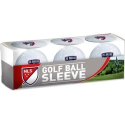 WinCraft FC Dallas 3-Pack Golf Ball Sleeve, Multicolor found on Bargain Bro from Kohl's for USD $7.29