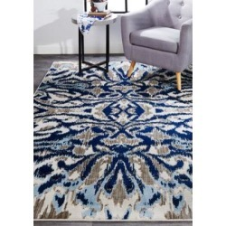 Weave & Wander Blue Haze Car ini 6 Foot 7 Inch x 9 Foot 6 Inch Area Rug found on Bargain Bro Philippines from belk for $348.00