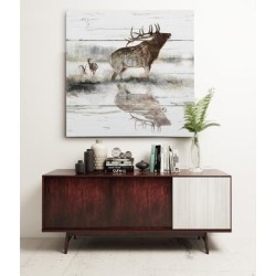 Rustic Misty Elk found on Bargain Bro Philippines from Overstock for $44.49
