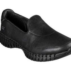 Skechers Women's Go Walk Smart - Fancy Pants Slip On Sneaker (7), Black found on Bargain Bro Philippines from Overstock for $72.14