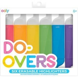 ooly Writing Utensils - Do Over Highlighters - Set of Six found on Bargain Bro Philippines from zulily.com for $8.99
