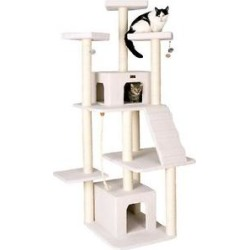 Armarkat 82-in Classic Cat Tree, Ivory