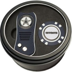 Dallas Cowboys Switch Chip Golf Tin Set found on Bargain Bro from nflshop.com for USD $18.99
