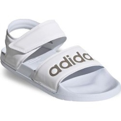 adidas Adilette Women's Strappy Sandals, Size: 11, White found on Bargain Bro from Kohl's for USD $26.59